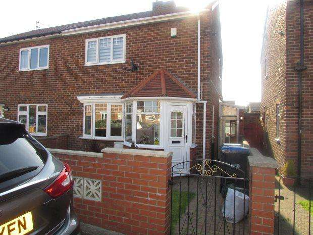2 Bedrooms Semi Detached House for sale in LUMSDEN SQUARE, MURTON, SEAHAM DISTRICT