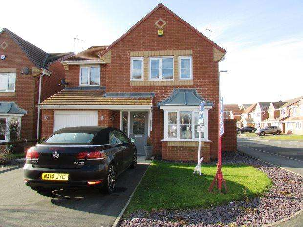 4 Bedrooms Detached House for sale in GRENABY WAY, MURTON, SEAHAM DISTRICT