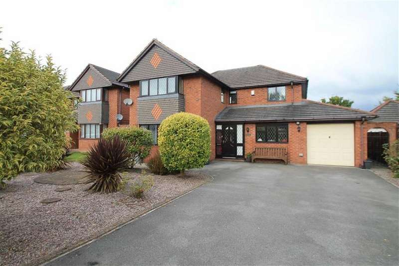 4 Bedrooms Detached House for sale in Apple Wood Close, Wrexham