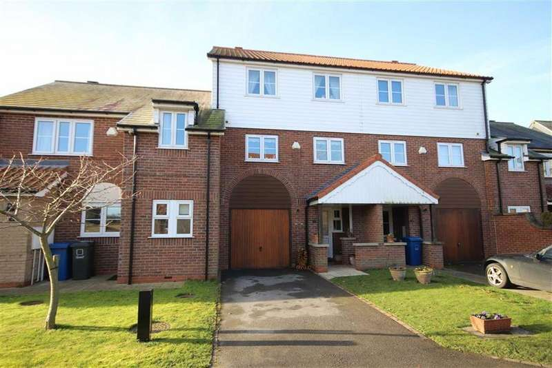 4 Bedrooms Town House for sale in Marine Approach, Burton Waters, Lincoln, Lincolnshire