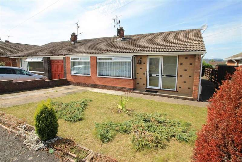 3 Bedrooms Semi Detached Bungalow for sale in Ffordd Madoc, Borras, Wrexham
