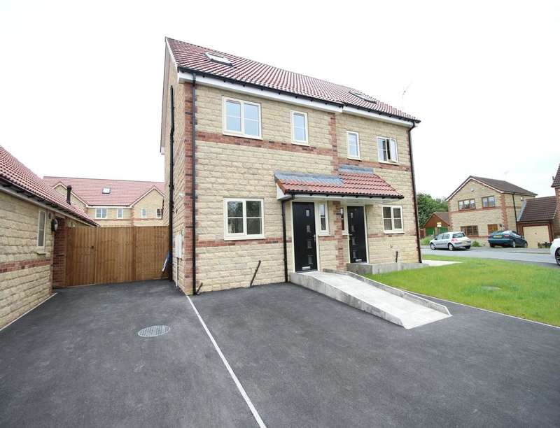 3 Bedrooms Semi Detached House for sale in Galway Mews, Harworth, Doncaster, DN11