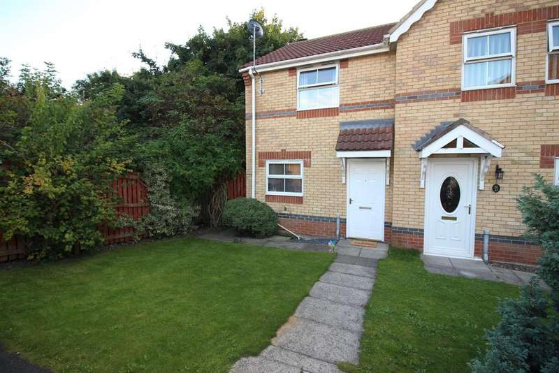 2 Bedrooms Semi Detached House for sale in Jubilee Court, Gateshead