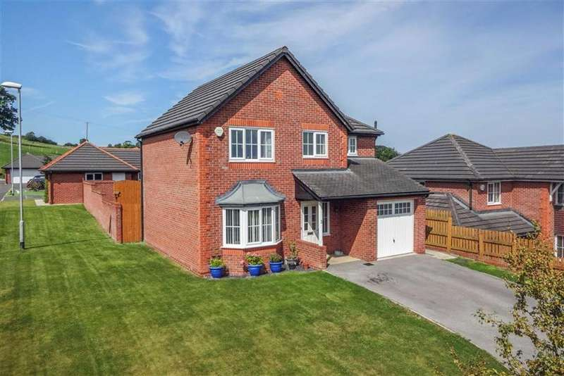 4 Bedrooms Detached House for sale in Llys Bychan, Holywell, Holywell