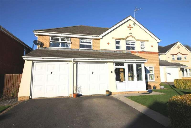 5 Bedrooms Detached House for sale in Clos Ffawydden, Ystradowen, Vale Of Glamorgan
