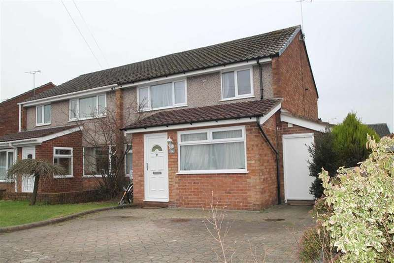 3 Bedrooms Semi Detached House for sale in Queens Road, Vicars Cross