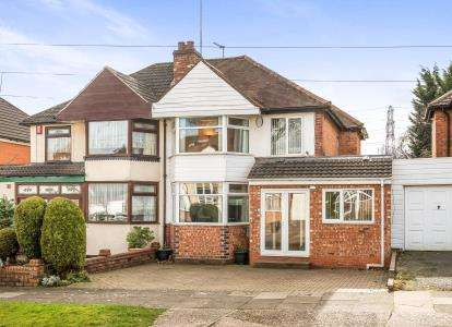 3 Bedrooms Semi Detached House for sale in Osmaston Road, Harborne, Birmingham, West Midlands