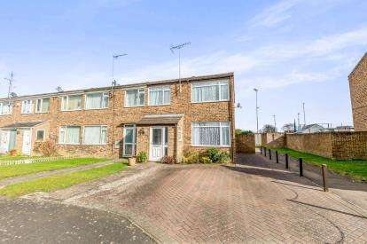 3 Bedrooms End Of Terrace House for sale in Winston Crescent, Brackley, Northamptonshire, Northants