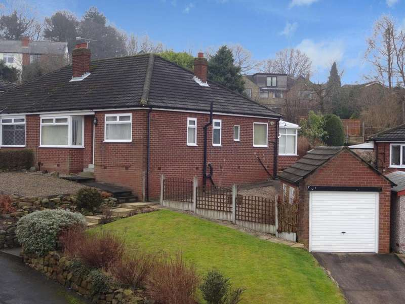 2 Bedrooms Semi Detached Bungalow for sale in Woodhill Rise, Cookridge