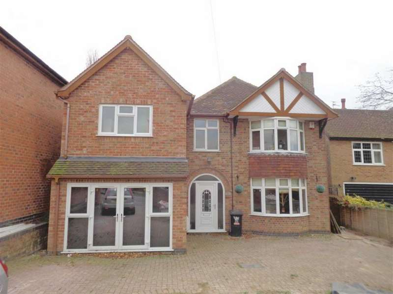 4 Bedrooms Detached House for sale in Scraptoft Lane, Leicester
