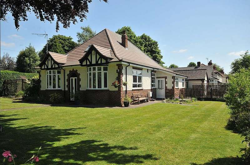 4 Bedrooms Detached Bungalow for sale in Northwich Road, Knutsford
