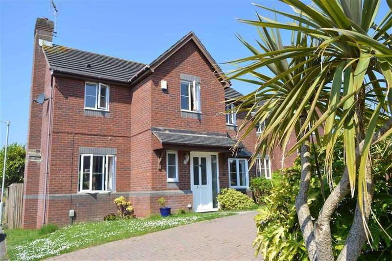 4 Bedrooms Detached House for sale in Ffordd Draenen Ddu, West Cross, Swansea