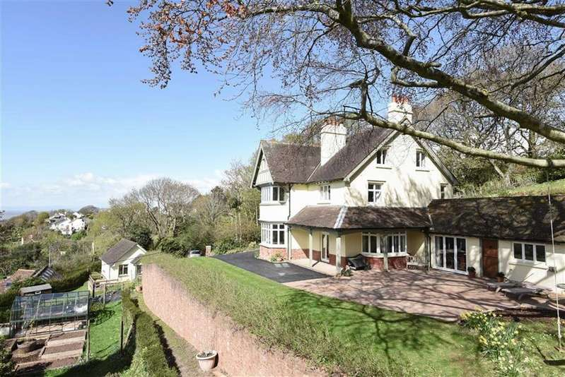 5 Bedrooms Detached House for sale in Doverhay, Porlock, Minehead, Somerset, TA24
