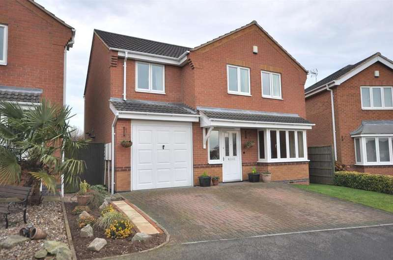 4 Bedrooms Detached House for sale in Lumley Close, Bilsthorpe, Newark
