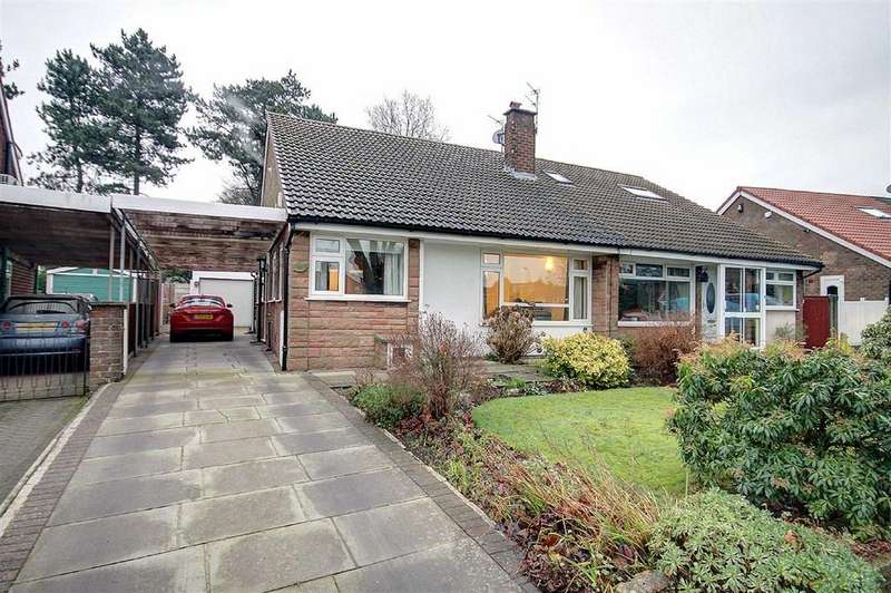 2 Bedrooms Semi Detached Bungalow for sale in Briony Avenue, Hale, Cheshire