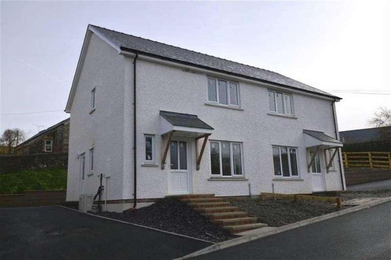 3 Bedrooms Detached House for sale in Plot 2, Adj To Ty'r Ysgol, Lledrod, Aberystwyth, Ceredigion, SY23