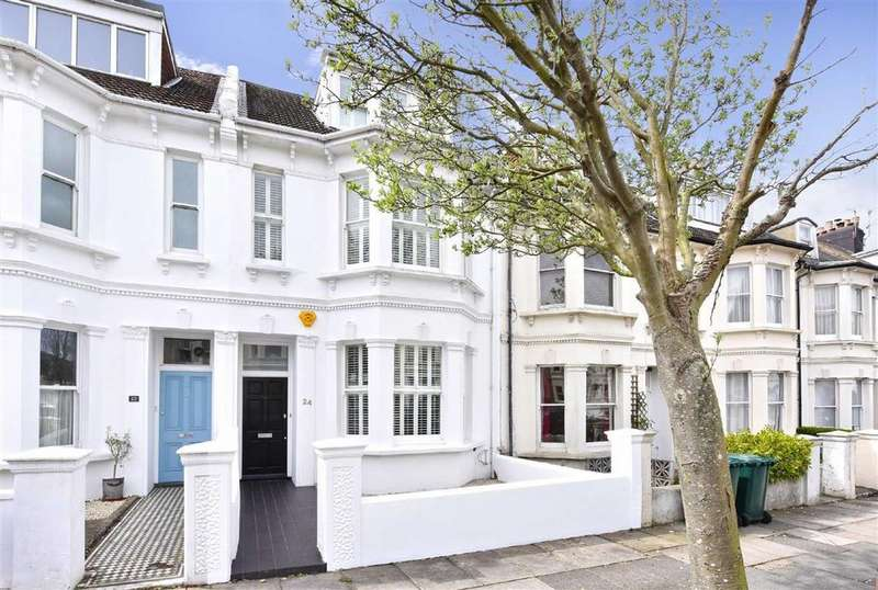 4 Bedrooms Terraced House for sale in Newtown Road, Hove