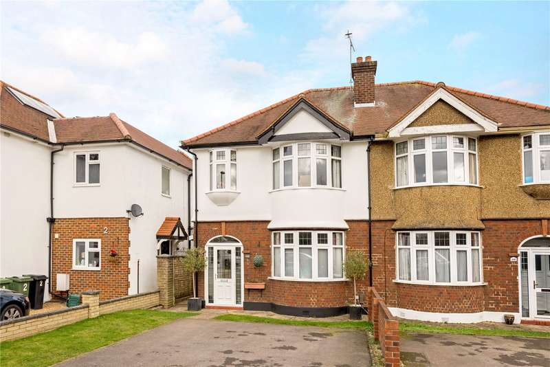 3 Bedrooms Semi Detached House for sale in Chessington Road, Epsom, Surrey, KT19