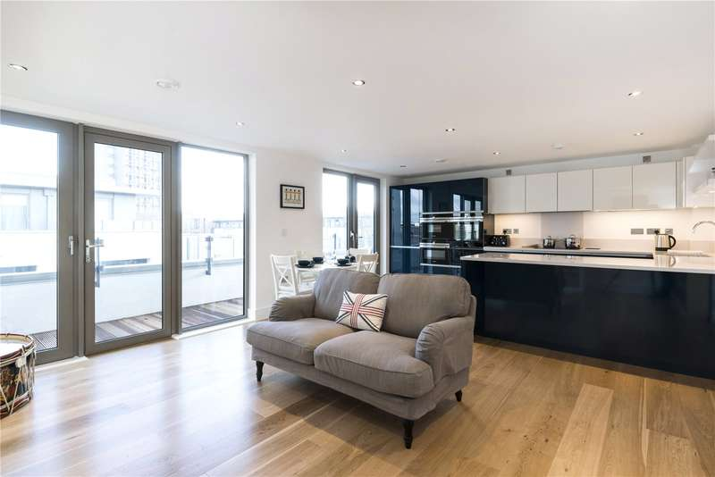 3 Bedrooms Flat for sale in Hardy Mansions, Portobello Square, London, W10