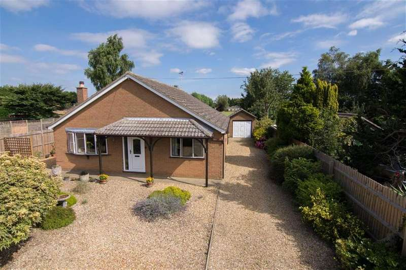 3 Bedrooms Detached Bungalow for sale in Pipwell Gate, Moulton Seas End