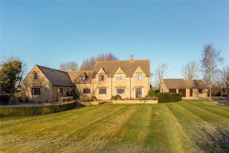 5 Bedrooms Equestrian Facility Character Property for sale in Ashton Road, Minety, Malmesbury, Wiltshire