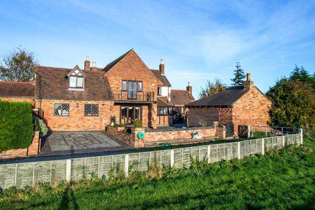 4 Bedrooms Detached House for sale in Nuneaton Road,Over Whitacre,Coleshill