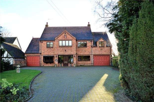 5 Bedrooms Detached House for sale in Stoneleigh Road, Gibbet Hill, Coventry, West Midlands