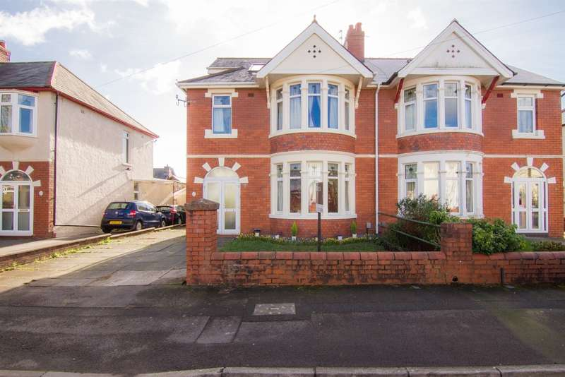 4 Bedrooms Semi Detached House for sale in St Johns Crescent, Whitchurch, Cardiff