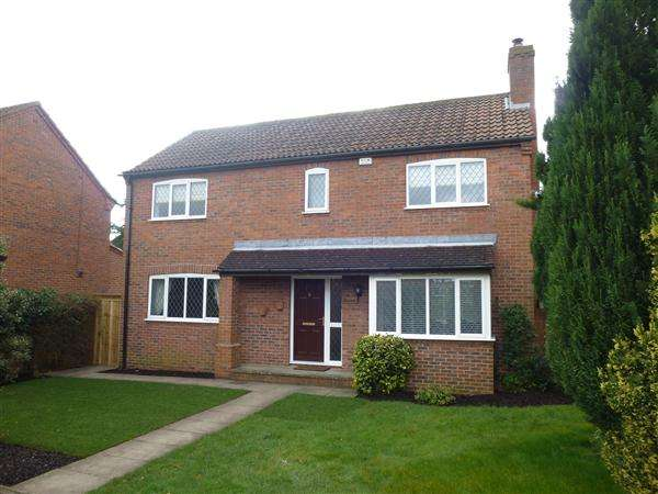 4 Bedrooms Detached House for sale in School Lane, Copmanthorpe, York
