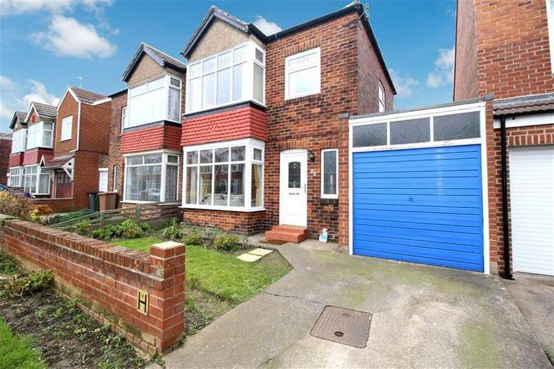 2 Bedrooms Semi Detached House for sale in Marina Drive, Whitley Bay