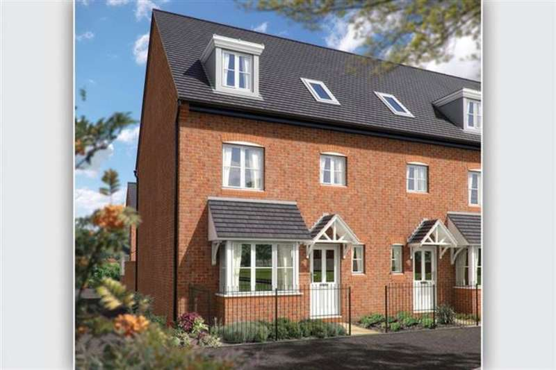 4 Bedrooms Property for sale in The Wimborne Sommerfeld Road Trench Lock, Telford, TF1