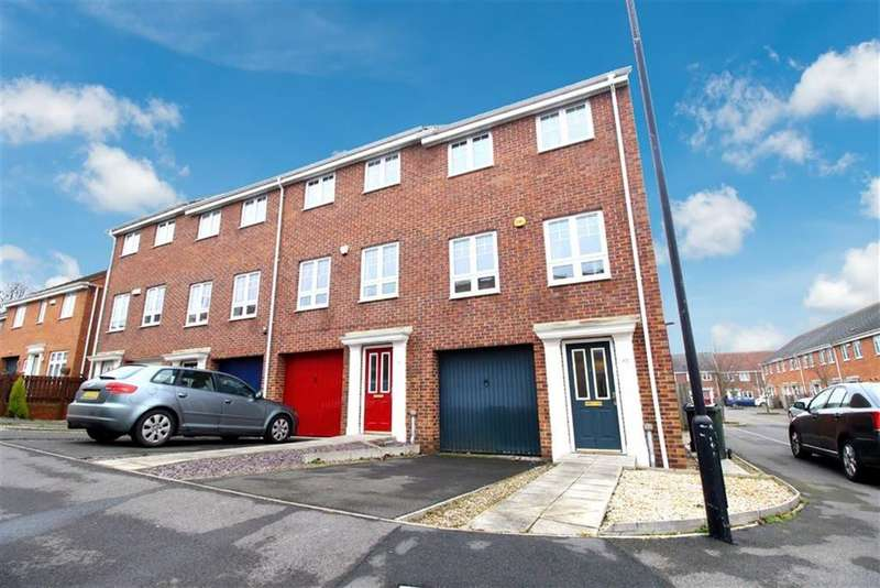4 Bedrooms Town House for sale in Ashover Road, Newcastle Upon Tyne, NE3