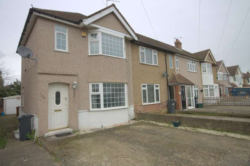 3 Bedrooms End Of Terrace House for sale in Ellington Road, Feltham, TW13