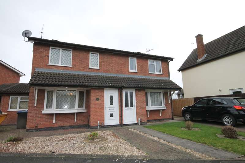 3 Bedrooms Semi Detached House for sale in Brascote Road, Hinckley