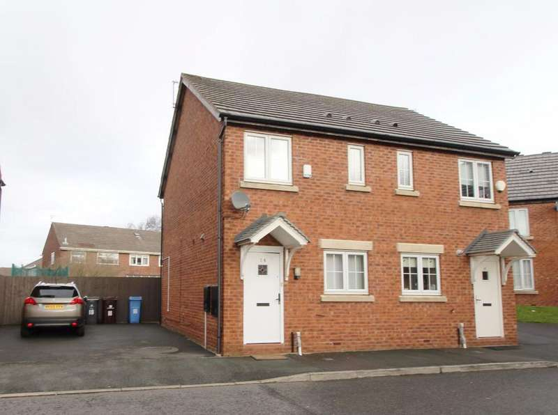 2 Bedrooms Semi Detached House for sale in Clements Way