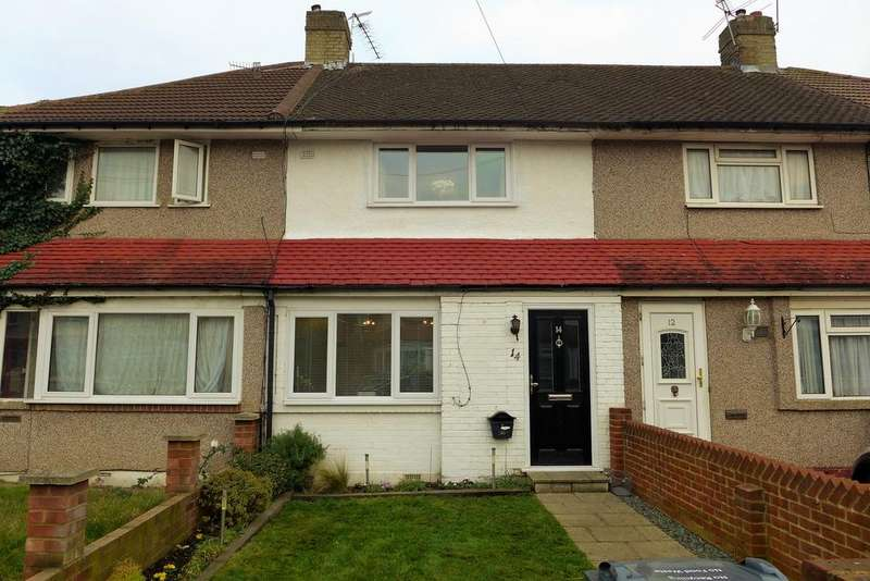 3 Bedrooms Terraced House for sale in Devonshire Road, Hanworth