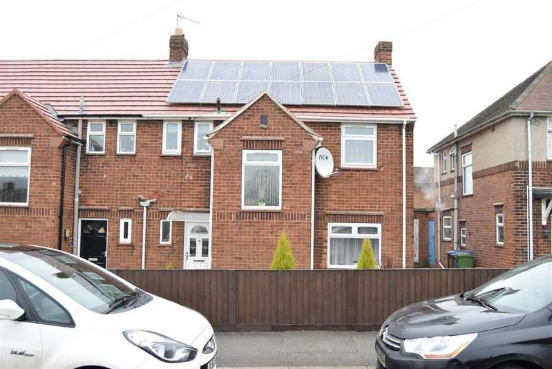 3 Bedrooms Semi Detached House for sale in Wilcox Avenue, Mansfield Woodhouse, Mansfield