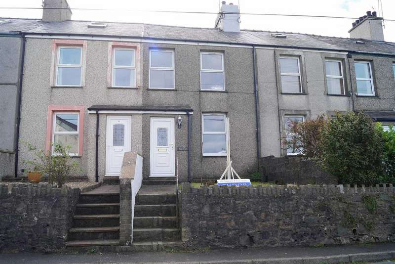 3 Bedrooms Terraced House for sale in Pistyll Terrace, Pistyll