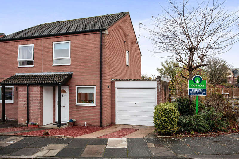 2 Bedrooms Semi Detached House for sale in Gosling Drive, Carlisle, CA3