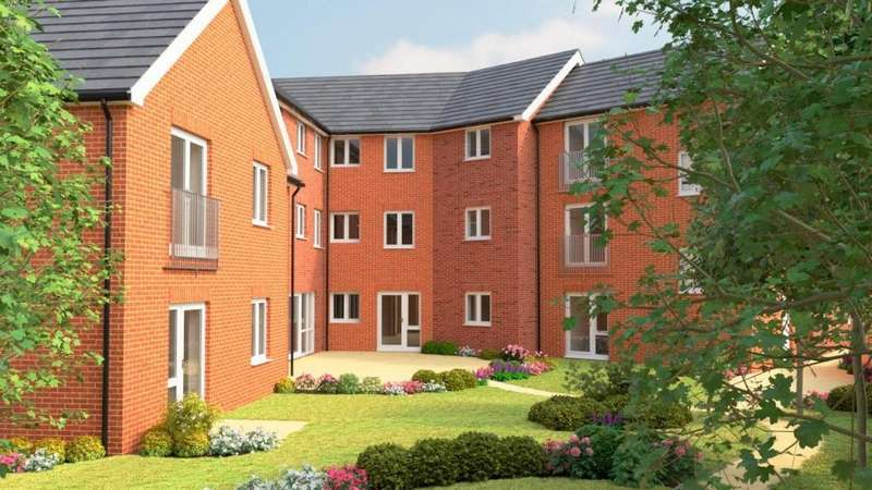 1 Bedroom Apartment Flat for sale in Rykeneld Court, Wolstanton, Newcastle under Lyme