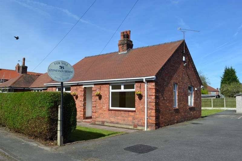 2 Bedrooms Detached Bungalow for sale in Victoria Street, Sandbach