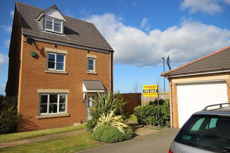 4 Bedrooms Detached House for sale in Ridley Gardens, Earsdon View, Newcastle upon Tyne, NE27