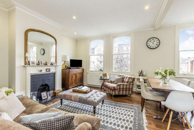 2 Bedrooms Maisonette Flat for sale in Uxbridge Road, Shepherds Bush, London, W12