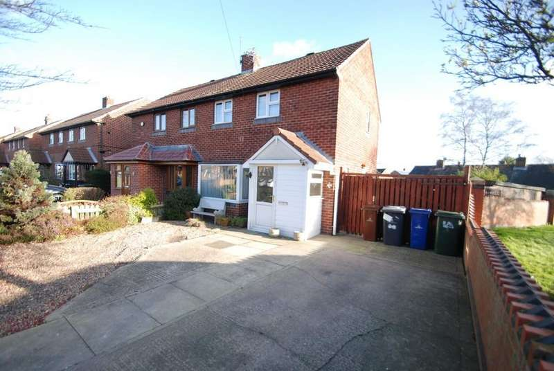 2 Bedrooms Semi Detached House for sale in Clifton Close, Barnsley s71