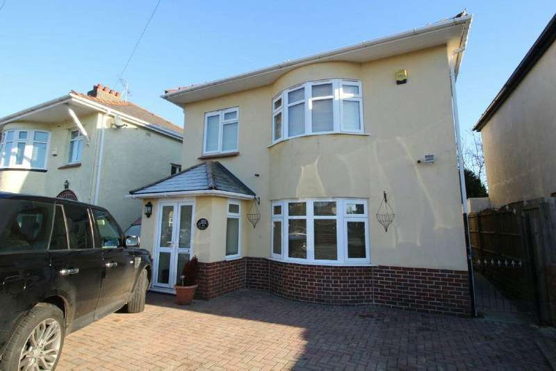 4 Bedrooms Detached House for sale in Hove Avenue, Newport