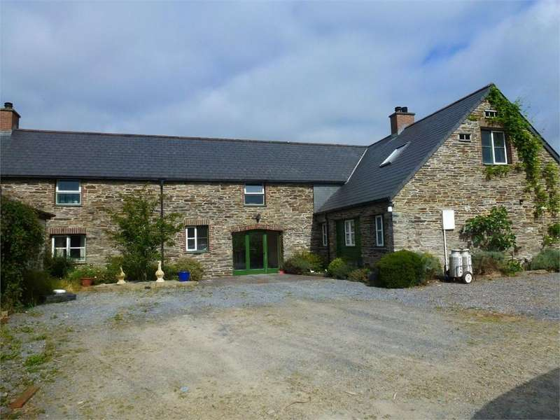 5 Bedrooms Barn Conversion Character Property for sale in Y Cam Olaf, Llechryd, Cardigan, Ceredigion