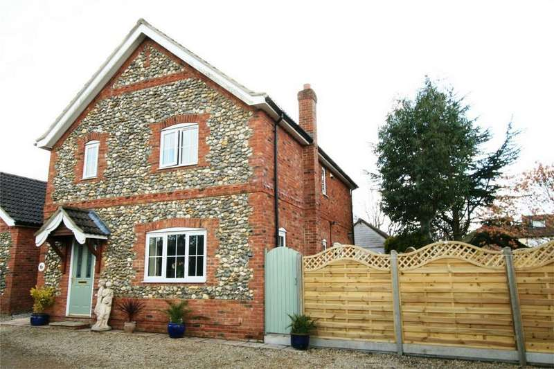 3 Bedrooms Detached House for sale in Black Horse Close IP25 6ES, Watton, THETFORD, Norfolk