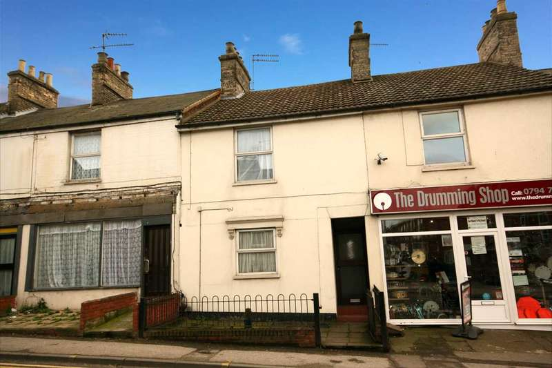 2 Bedrooms Terraced House for sale in Woodbridge Road, Ipswich