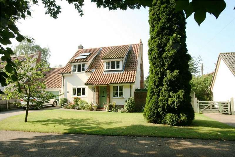 4 Bedrooms Detached House for sale in Green Lane, NR16 2AP, Quidenham, NORWICH, Norfolk