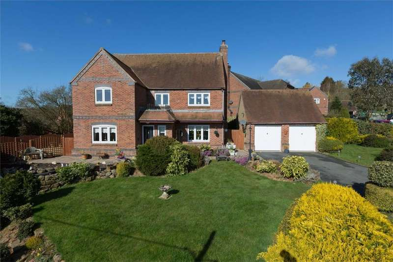 4 Bedrooms Detached House for sale in 5 Badgers Rise, Coreley, Ludlow, Shropshire